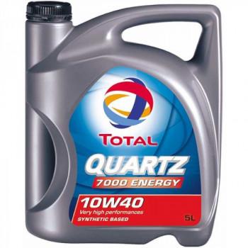 Olej silnikowy TOTAL QUARTZ 7000 10W40 5 litrów
