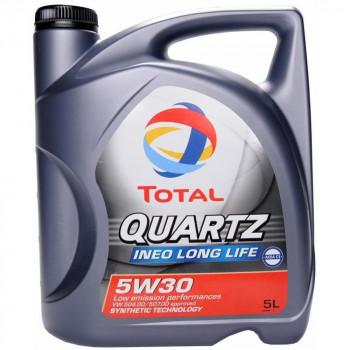Olej Total Quartz Ineo L LIFE 5W30 5 litrów