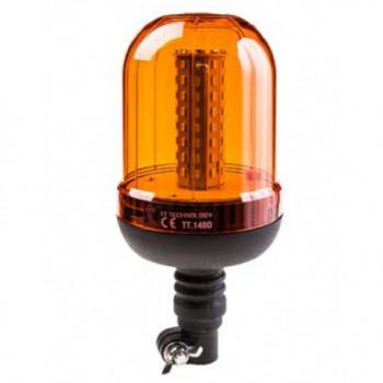 LAMPA OSTRZEG.LED 12/24V Z MIĘKKIM KOŃCEM TT.140D
