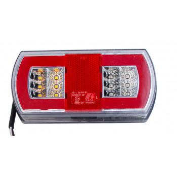 LAMPA TYLNA LED GLO-TRAC 12-24V TT.12030G-LEWA