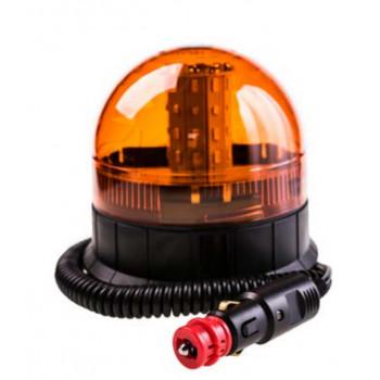 LAMPA OSTRZEGAWCZA LED 12/24V NA MAGNES TT.190L